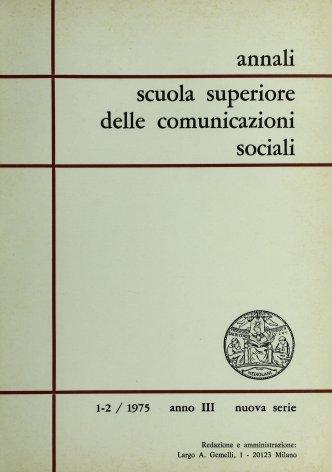 Analisi psicodinamica della stampa clandestina 1943-1945