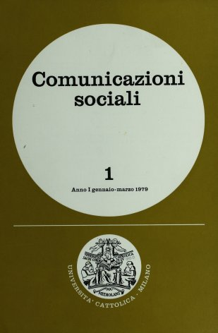 COMUNICAZIONI SOCIALI - 1979 - 1