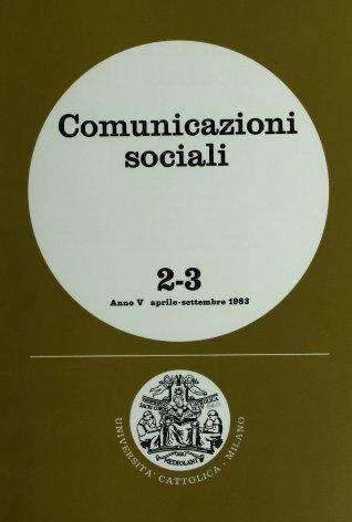 COMUNICAZIONI SOCIALI - 1983 - 2-3