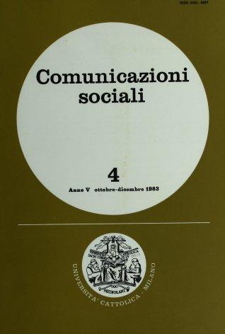 COMUNICAZIONI SOCIALI - 1983 - 4