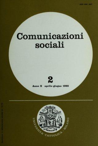 COMUNICAZIONI SOCIALI - 1988 - 2