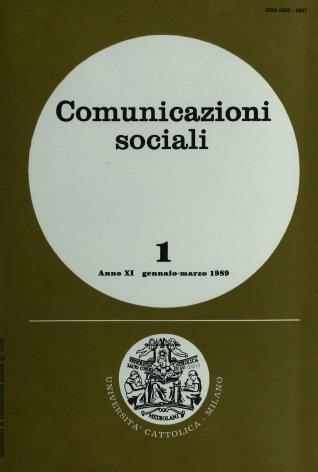 COMUNICAZIONI SOCIALI - 1989 - 1