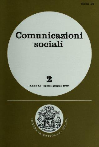 COMUNICAZIONI SOCIALI - 1989 - 2