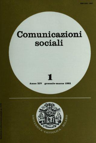 COMUNICAZIONI SOCIALI - 1992 - 1
