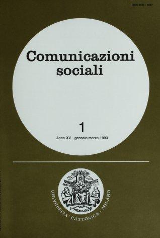 COMUNICAZIONI SOCIALI - 1993 - 1. RISATE SENZA FINE