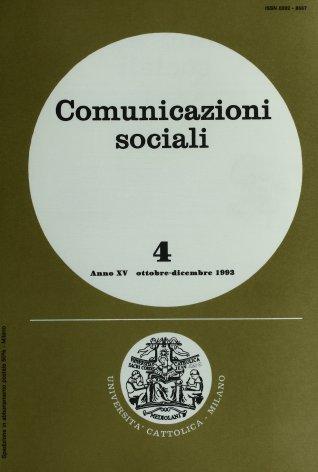 COMUNICAZIONI SOCIALI - 1993 - 4