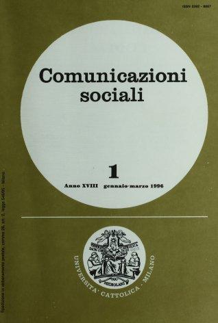 COMUNICAZIONI SOCIALI - 1996 - 1