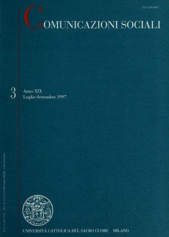 COMUNICAZIONI SOCIALI - 1997 - 3. STORIE DI RADIO
