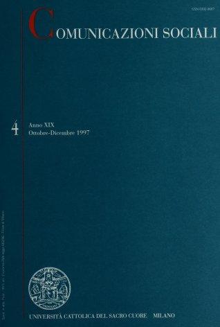 COMUNICAZIONI SOCIALI - 1997 - 4
