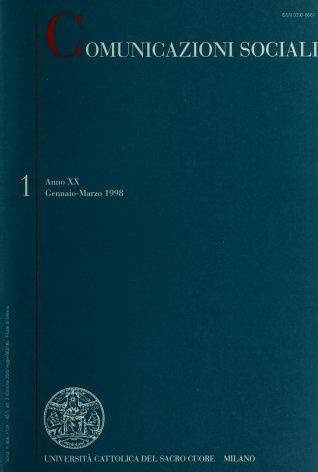 COMUNICAZIONI SOCIALI - 1998 - 1