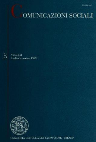 COMUNICAZIONI SOCIALI - 1999 - 3