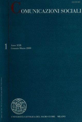 COMUNICAZIONI SOCIALI - 2000 - 1