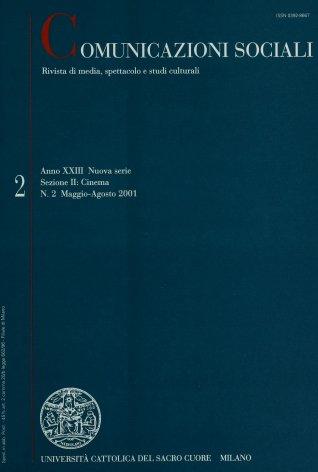 COMUNICAZIONI SOCIALI - 2001 - 2. AL CINEMA. SPETTATORE, SPETTATORI, PUBBLICO