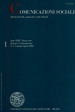 COMUNICAZIONI SOCIALI - 2002 - 1. DIALOGHI IN RETE