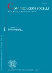 COMUNICAZIONI SOCIALI - 2011 - 3. Di scena in scena