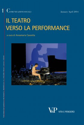 Performance e teatro. Dall'attore al performer, e ritorno? Performance and theatre. From the actor to performer, and back?